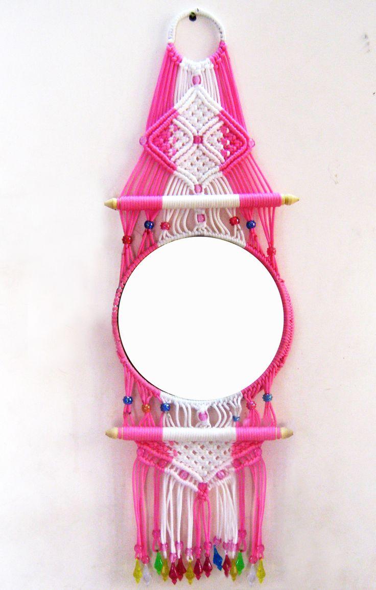 http://www.shopclues.com/macrame-decorative-mirror.html