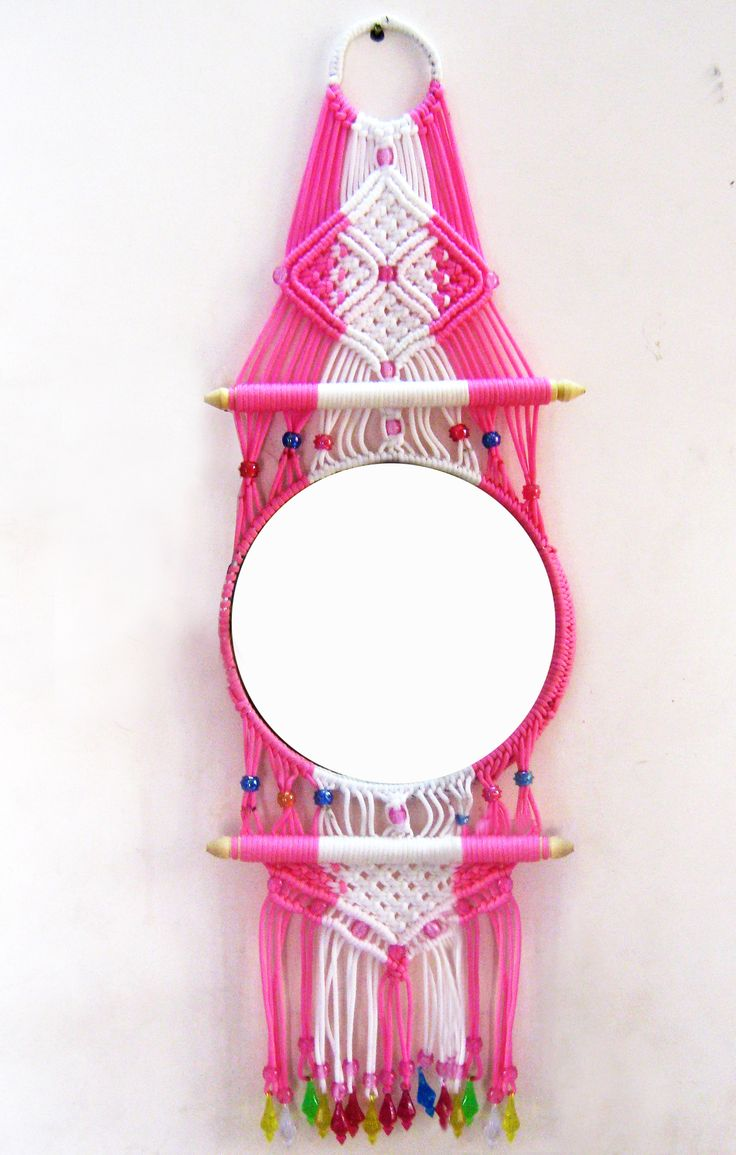 http://www.shopclues.com/macrame-decorative-mirror.html