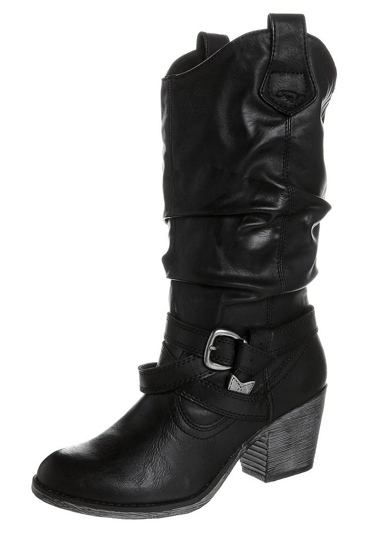 SIDESTEP - Cowboylaarzen / Motorlaarzen - Zwart