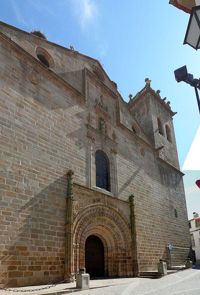 Cáceres Iglesia en Brozas