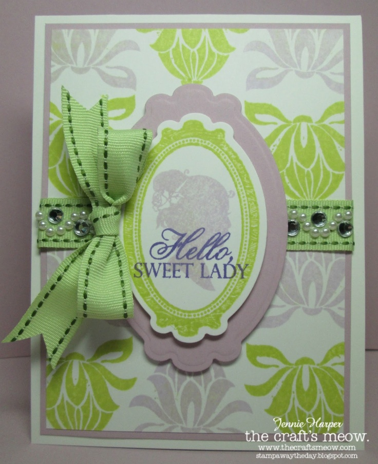Stampin Away the Day: The Crafts Meow: Sweet Sentiments