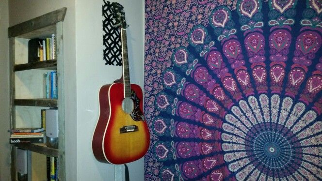 I cut this #floweroflife #guitarhanger  out of some #scrapmetal