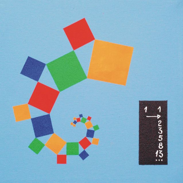 """""""Fibonacci meets Pythagoras"""": So hat der Schweizer Künstler Eugen Jost, mit dem Professor Dr. Baptist und das Team seines Lehrstuhls bei dem..."""