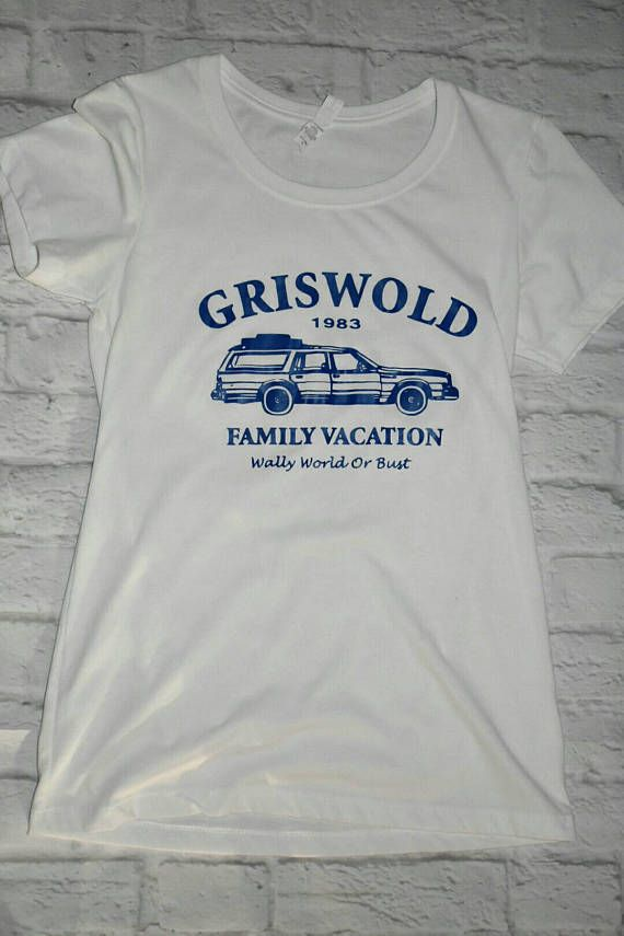 Griswold family vacation inspired shirt, road trip shirt, womens white shirt, national lampoon vacation inspired shirt