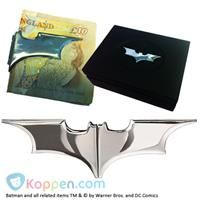 Batarang chromen geldclip - Koppen.com