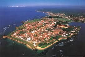 Galle Fort aerial view  www.limedays.com