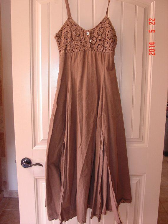 sexy long maxi summer dress by myitaliandreams on Etsy, $22.00