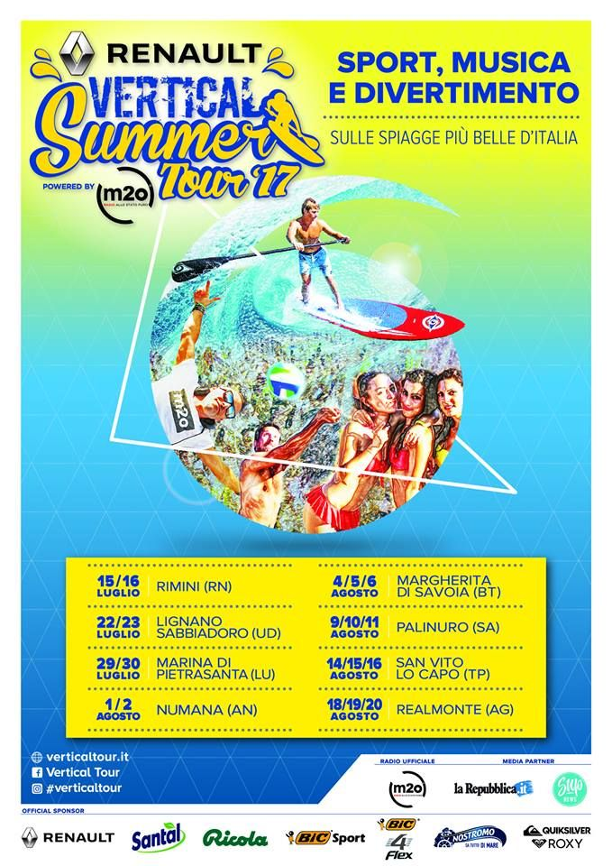 Sport music and fun with the summer events by #Roxy and #Quiksilver