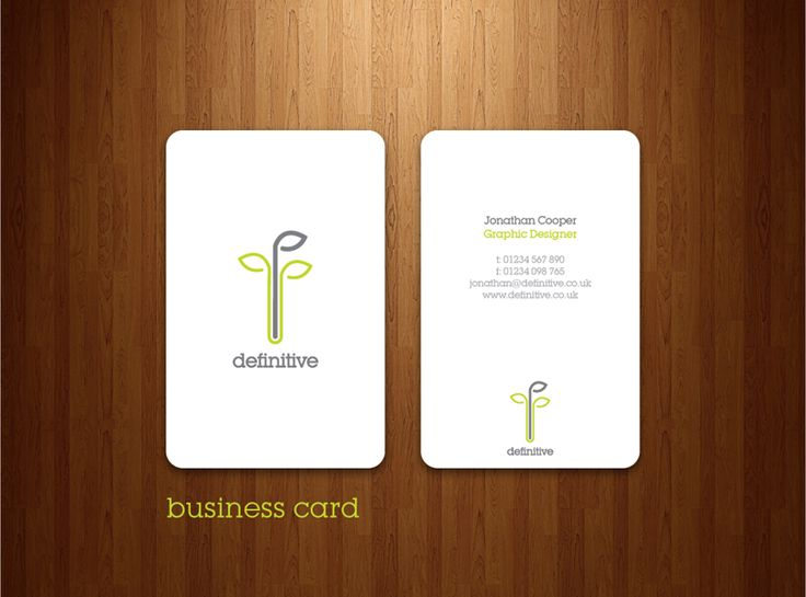 Definitive: Business Card