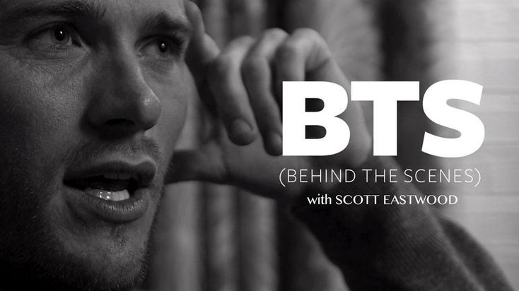 Behind The Scenes With Scott Eastwood It's only natural that Scott Eastwood , son of the legendary Clint, is breaking into the movie biz. In this candid video , the actor/producer/model talks about when he knew he decided to pursue a Hollywood career , his favorite part about acting in Nicholas Sparks's The Longest Ride (hint: it doesn't include stripping down ), and the one thing he hopes to conquer on his bucket list. Related: Meet Scoot Eastwood: From Abercrombie & Fitch Model to ...