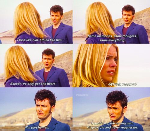 """A Defense of """"Does it need saying?"""" An in-depth look at the Doctor's refusal to say """"I love you"""" to Rose Tyler. This makes so much sense!"""