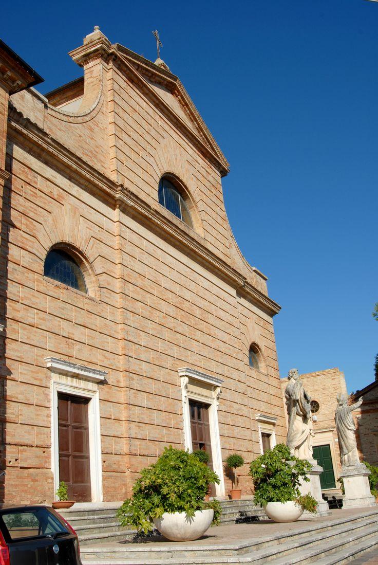 Chiesa di S. Bartolomeo anno 1850  #marcafermana #campofilone #fermo #marche