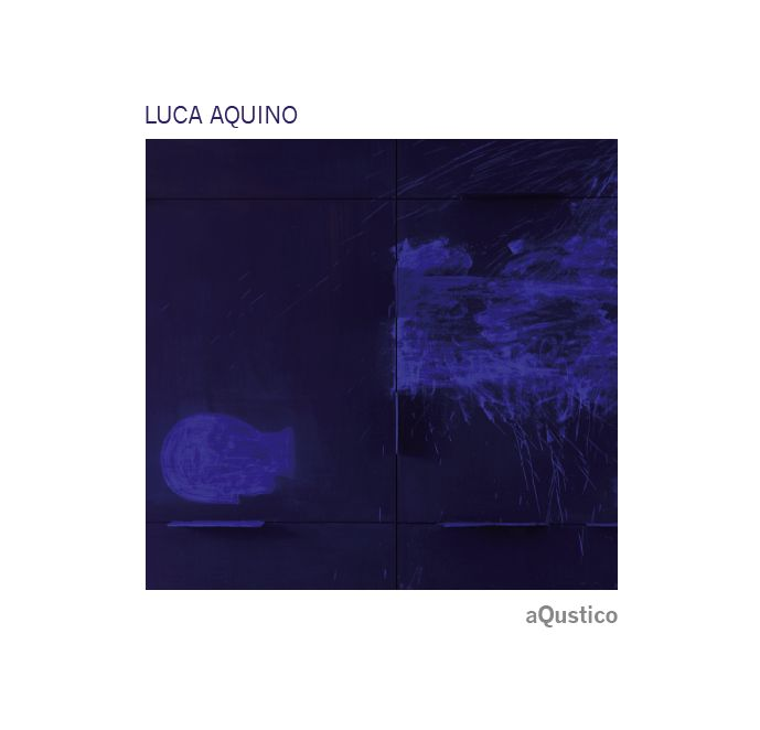 Cover Design for TukMusic - CD Luca Aquino - aQustico
