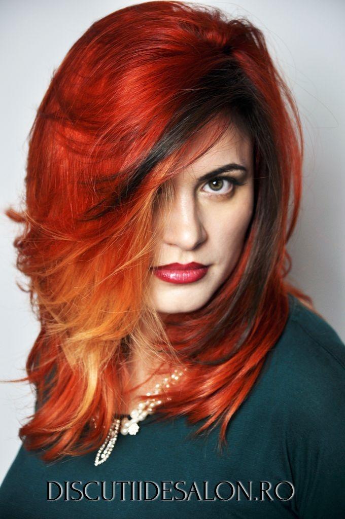 Beautiful Colored Hair, par, culoare, vopsea pentru par, par lung, saloane infrumusetare, Hairstylist: George Topirceanu www.cadoulmov.ro