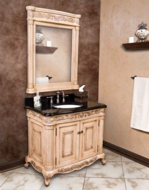 Antique White Bathroom Cabinets 14 best traditional bathroom vanities images on pinterest