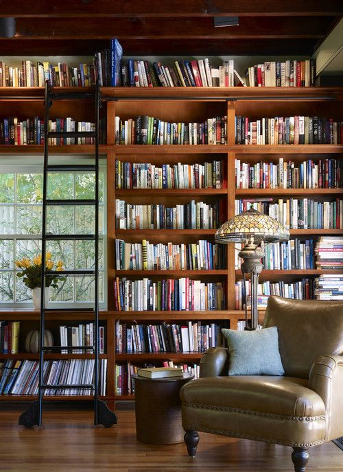 Floor to ceiling library? Yes, please. #books