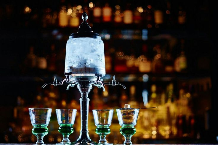 Absinthe fountain at the prohibition bar.  $50/person https://goo.gl/images/5tR5ve