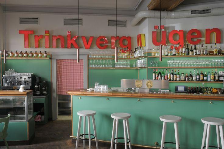 Trinkvergnügen im Bavarese - München (Ich liebe diese Bar!)