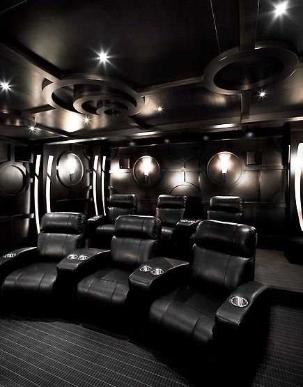 The Martinique Luxury Estate - Home Theatre