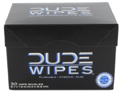 "For wiping your penis, balls, taint, and ass crack, ""pre- or post-gym.""20 bucks for a box of 30, DUDE."