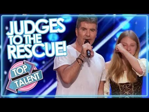 JUDGES TO THE RESCUE! Simon Cowell & Co Step In To SAVE AUDITIONS On