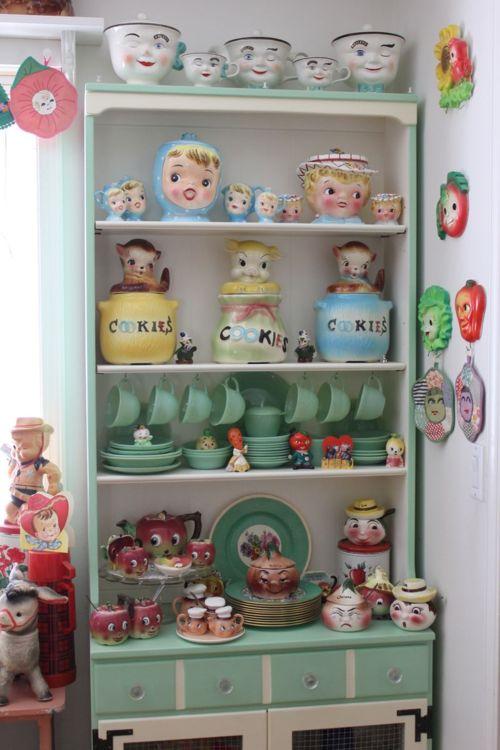 Vintage kitchen kitsch