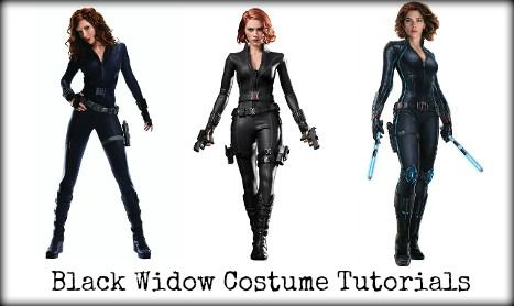 Top Black Widow Costume Tutorials and Resources