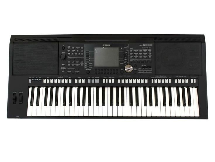 Yamaha Keyboard PSR-S950 in black. http://zocko.it/LDYB7