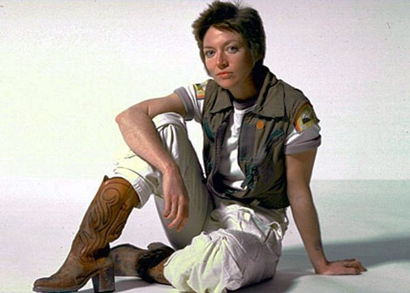 """While Veronica Cartwright was at New Beverly Cinema to talk about """"The Right Stuff,"""" filmmaker Brian McQuery couldn't help but ask her a question about another famous movie she starred in, """"Alien.""""…"""