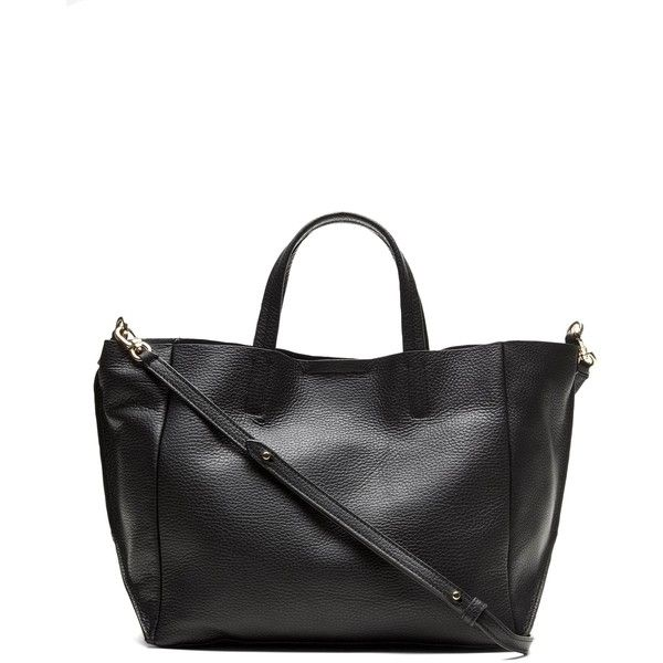 Banana Republic Portfolio Italian Leather Slouch Tote ($148) ❤ liked on Polyvore featuring bags, handbags, tote bags, white leather purse, banana republic tote, white tote bag, white purse and genuine leather tote