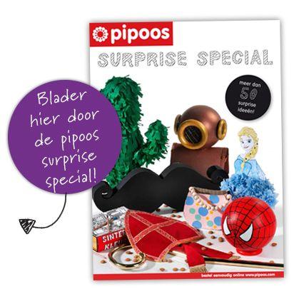 pipoos hobbywinkel | pipoos surprise special