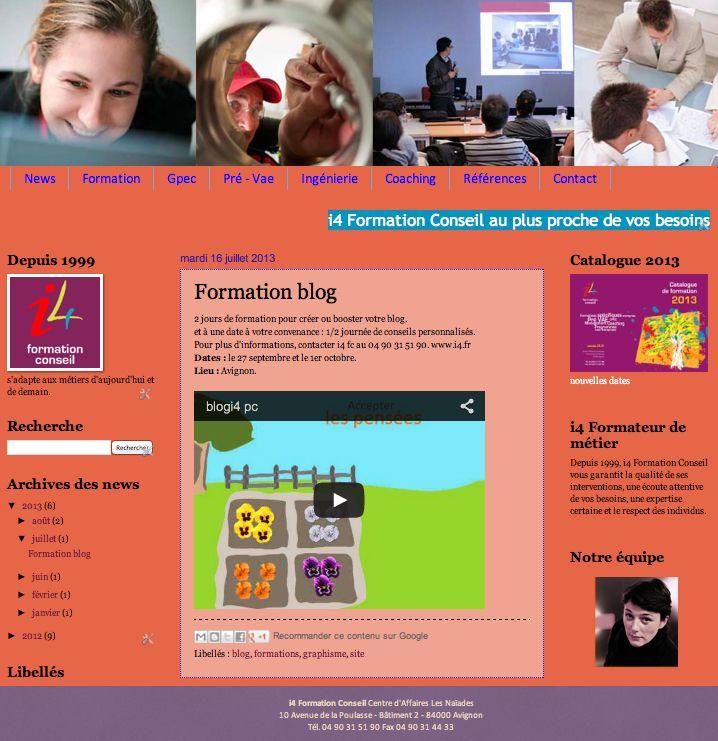 I4 formation Conseil : formation, Gpec, Pré-Vae, Ingénierie, Coaching, Avignon, Vaucluse. http://www.i4.fr/