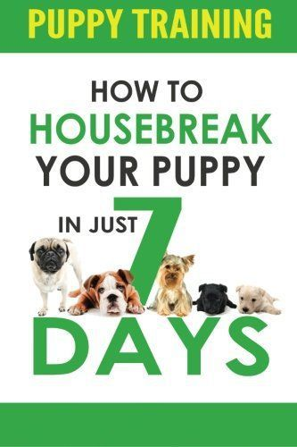 Puppy Training: How to Housebreak Your Puppy in Just 7 Days! (puppy training, dog training, puppy house breaking, puppy housetraining, house training a puppy) -  @KaufmannsPuppy