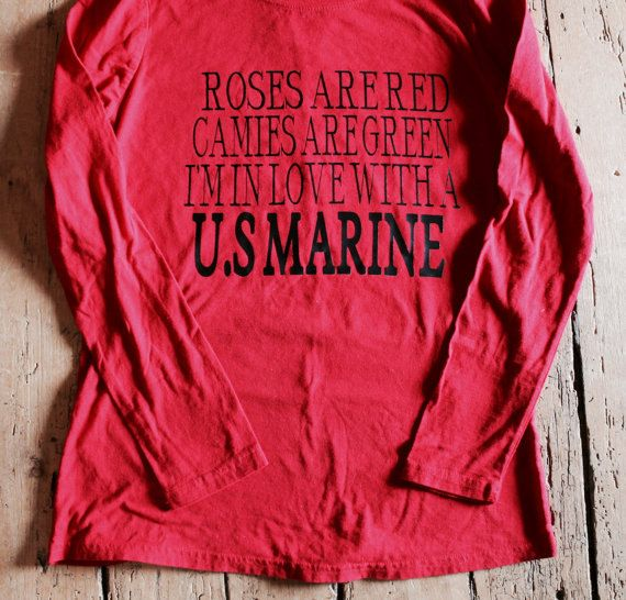 SALE!! roses are red cameos are green I'm in love with a us marine by…