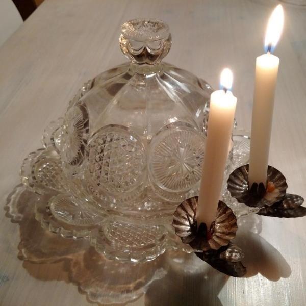 Facettierte Glas Cloche Alt Shabby Vintage Antik in Kitzingen byROSALIEseit2011' Nostalgie