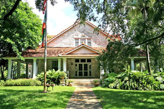 the Merrick House - Coral Gables. Founder of Coral Gables-George Merrick