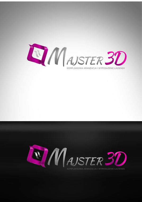 majster 3d - logo design Agency: Creativehead.info, Artist: Hubert Paderski (webdesigner1921) Facebook profile: www.facebook.com/creativehead.info   Work realisation date:  2015 -------------------------------- It is prohibited to copy or use in any form this project. Design protected by copyright. It is prohibaited to copy pages, graphic, components and code.