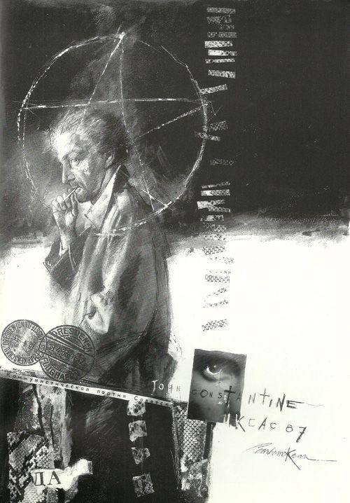 John Constantine by Dave McKean