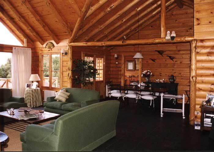 25 best ideas about caba as de troncos on pinterest - Construccion de cabanas de madera ...