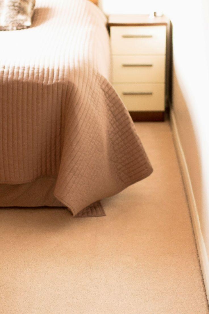 Throw from La Redute. Beige bedroom decor