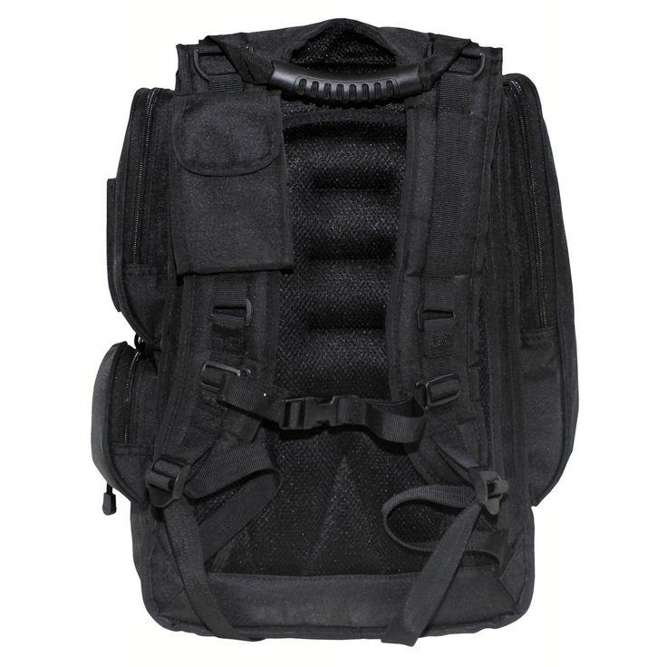 Az Amerikai Nemzeti Gárda hátizsákja. Erős anyagból készült sok tároló rekesszel ellátott (még laptop rekesze is van) kényelmes hátizsák. Túrázáshoz, utcai viseletre kiválóan alkalmas.  <b>Várható beérkezés január közepe!</b>