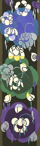 Edouard Benedictus  Floral Motif  1924  (requested by Monika)