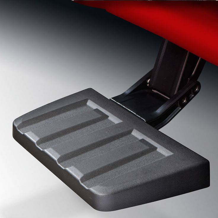 Get easy access to your trucks tool box and other items in your truck bed with this Retractable Side Step It mounts on either side of the vehicle just rear of the truck cab to give a secure step to easily get to stuff in the front of your truck bed Nohands flipdown operation Retractable Bed Step For 58 Short Box Models Not For Use With 4 Assist Steps VXJ RVS