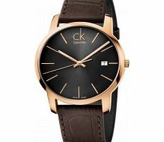 Calvin Klein City Grey Brown Watch Yet again another superb example of what Calvin Klein is all about impressive design functionality and great value for money to. The City Grey Brown Watch K2G2G6G3 like all Calvin Klein watches are du http://www.comparestoreprices.co.uk/watches/calvin-klein-city-grey-brown-watch.asp
