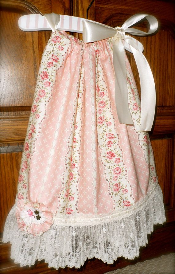 Elegant Rose pillowcase dress:)   LOVE for Sewing ...