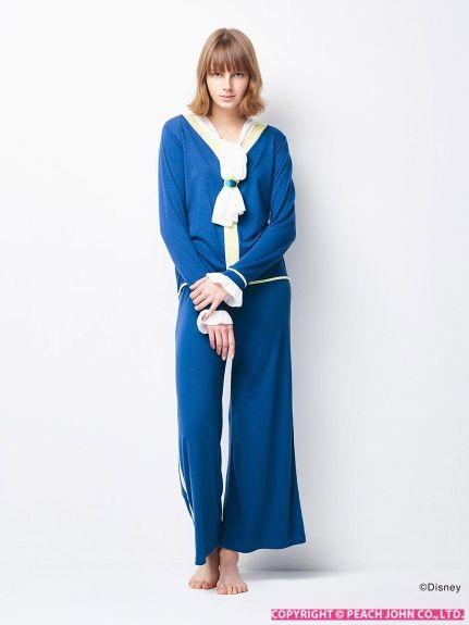 PJ/美女と野獣 ネックシフォンパジャマ(パジャマ・ルームウェア)|PEACH JOHN(ピーチ・ジョン)|ファッション通販 - ファッションウォーカー