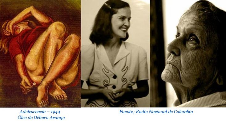 Débora Arango fue la primera mujer colombiana que se atrevió a pintar desnudos, hecho que levantó muchísima polvareda, aunque quizá no tanta como sus retratos de conocidos políticos con forma de animales…… http://melanimsas.blogspot.com.co/2018/02/debora-arango-arte-colombiano.html