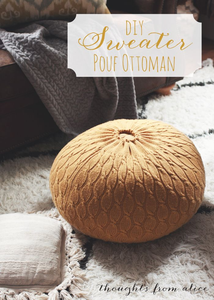 1000  ideas about Homemade Ottoman on Pinterest  Diy ottoman ...
