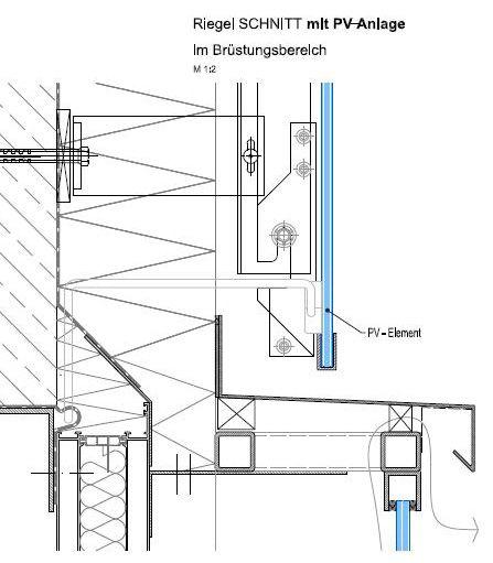 Kaltfassaden (Vorhangfassade): solarfassade.info - Portal für gebäudeintegrierte Photovoltaik