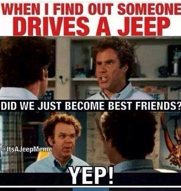 Jeep friends. #bffe #jeeplife
